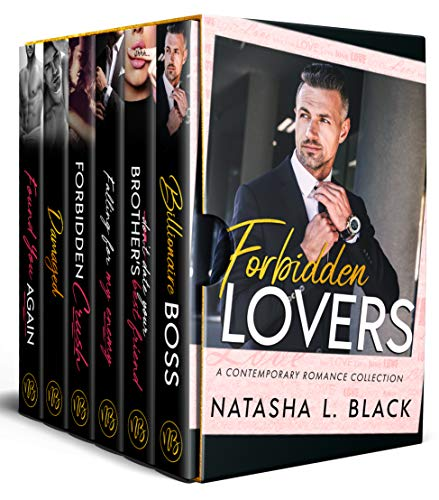 Book Cover of Forbidden Lovers: A Contemporary Romance Box Set