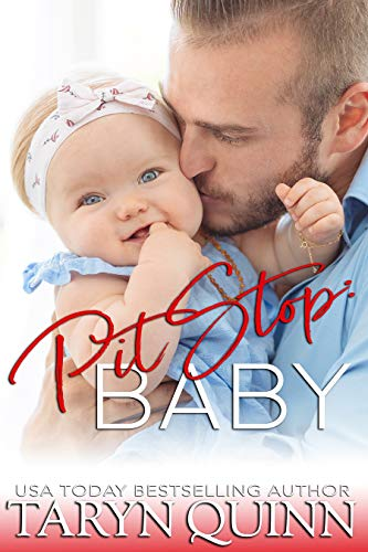 Book Cover of Pit Stop: Baby! (Crescent Cove Book 4)