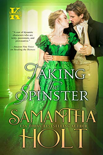 Book Cover of Taking the Spinster (The Kidnap Club Book 3)
