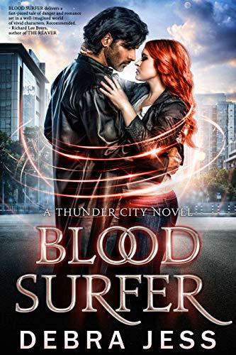 Book Cover of Blood Surfer: Superhero Romance