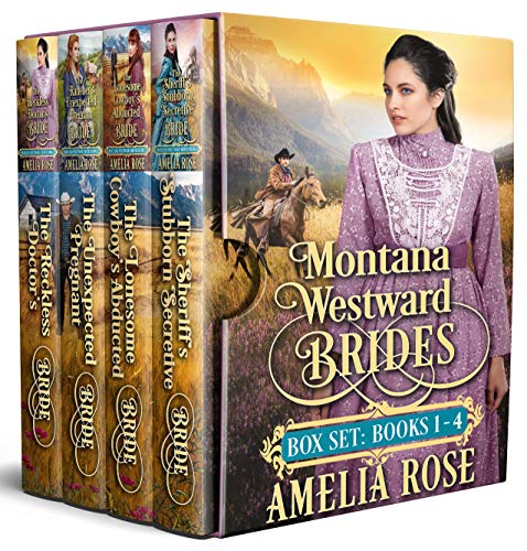 Book Cover of Montana Westward Brides: Books 1-4: Mail Order Bride Historical Western Romance