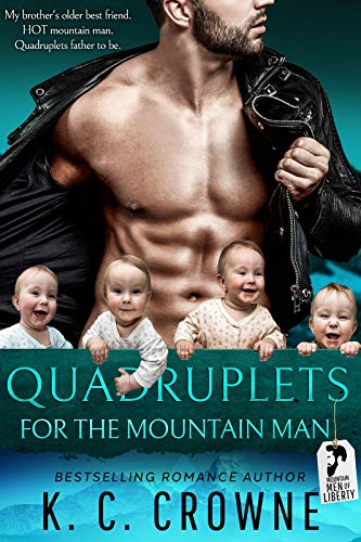 Book Cover of Quadruplets for the Mountain Man: A Mountain Man's Baby Romance