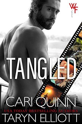 Book Cover of Tangled: Rockstar Romantic Suspense (Winchester Falls Book 1)