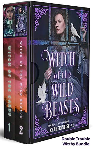 Book Cover of Double Trouble Witchy Bundle: Witch of the Cards & Witch of the Wild Beasts