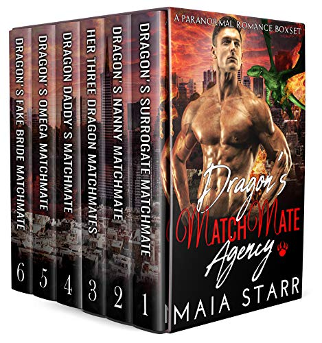 Book Cover of Dragon's MatchMate Agency: A Paranormal Romance Boxset