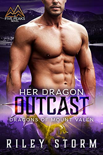 Book Cover of Her Dragon Outcast (Dragons of Mount Valen Book 4)