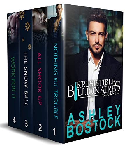 Book Cover of Irresistible Billionaires Boxed Set: Books 1-4