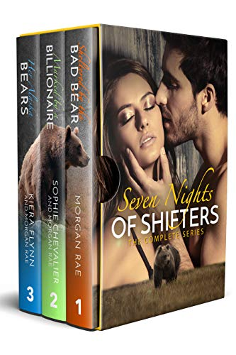 Book Cover of Seven Nights of Shifters (3-Book Boxset)