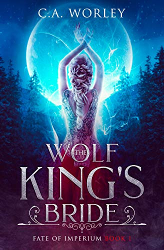 Book Cover of The Wolf King's Bride (Fate of Imperium Book 1)