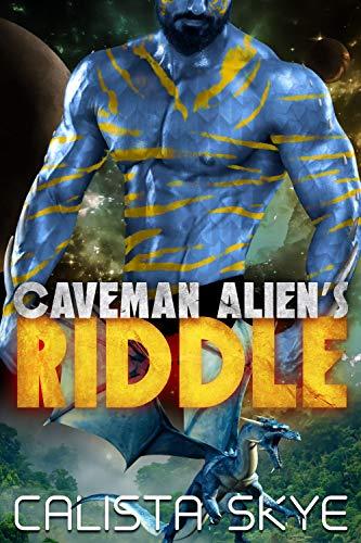 Book Cover of Caveman Alien's Riddle (Caverman Aliens Book 13)