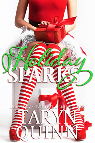 Book Cover of Holiday Sparks: A Christmas Romantic Comedy