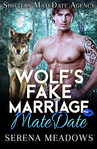 Book Cover of Wolf's Fake Marriage MateDate