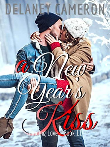 Book Cover of A New Year's Kiss (Finding Love Book 11)