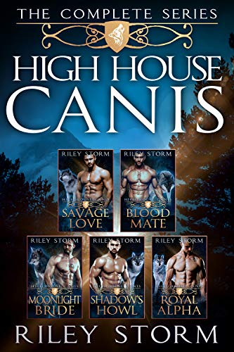 Book Cover of High House Canis: The Complete Wolf Shifter Box Set