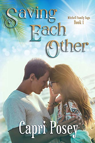 Book Cover of Saving Each Other: A Sweet Romance with a Dash of Thriller