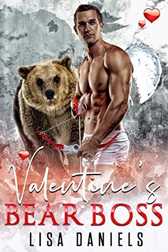 Book Cover of Valentine's Bear Boss: A Bear Shifter Holiday Romance (Bear Bosses of Samhain Book 3)