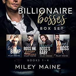 Book Cover of Billionaire Bosses Box Set