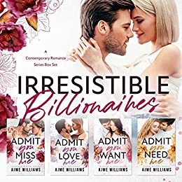 Book Cover of Irresistible Billionaires : A Contemporary Romance Series Box Set