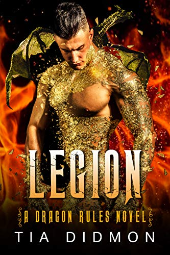 Book Cover of Legion: Alpha Dragon Shifter Romance (Dragon Rules Series Book 1)