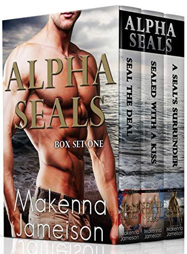 Book Cover of Alpha SEALs Box Set One (Books 1-3)