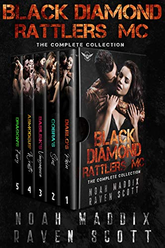 Book Cover of Black Diamond Rattlers MC: The Complete Collection