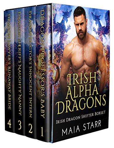 Book Cover of Irish Alpha Dragons: Irish Dragon Shifter Boxset