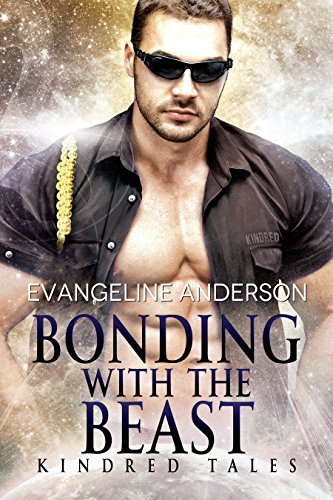 Book Cover of Bonding With the Beast: a Kindred Tales novel: (Alien Warrior BBW Science Fiction Single Mother Romance)