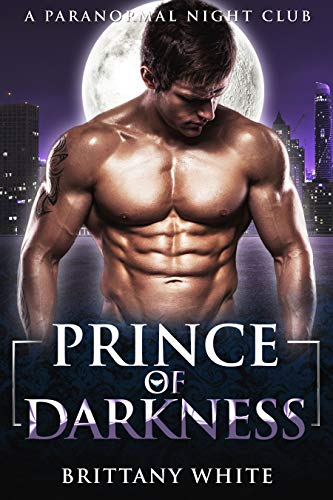 Book Cover of Prince of Darkness: Forbidden Vampire Romance (A Paranormal Night Club Book 4)