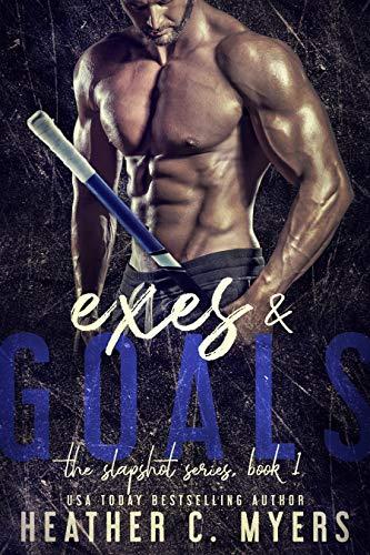 Book Cover of Exes and Goals: A Slapshot Novel (Slapshot Series Book 1)