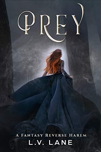Book Cover of Prey: A Fantasy Reverse Harem (Omega Prey Book 1)