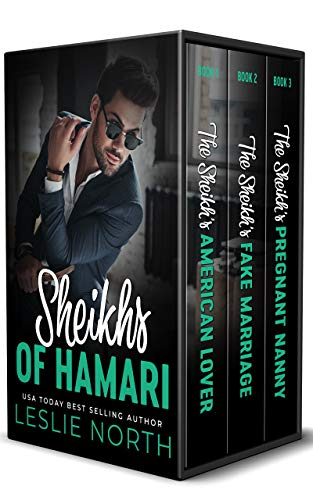 Book Cover of Sheikhs of Hamari: The Complete Series
