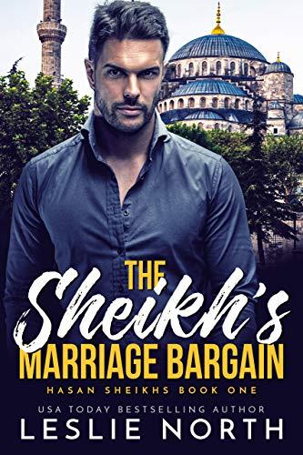 Book Cover of The Sheikh's Marriage Bargain (Hasan Sheikhs Book 1)