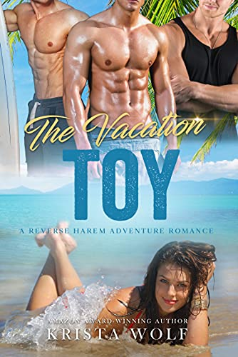 Book Cover of The Vacation Toy: A Reverse Harem Adventure Romance