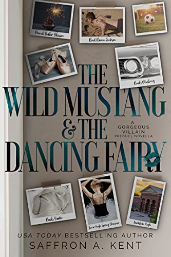 Book Cover of The Wild Mustang & The Dancing Fairy: A Gorgeous Villain Prequel Novella