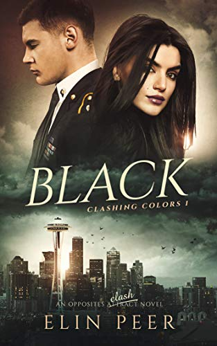 Book Cover of BLACK (Clashing Colors Book 1)