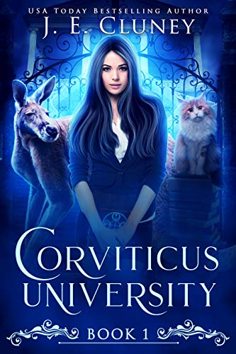 Book Cover of Corviticus University: A Paranormal Romance
