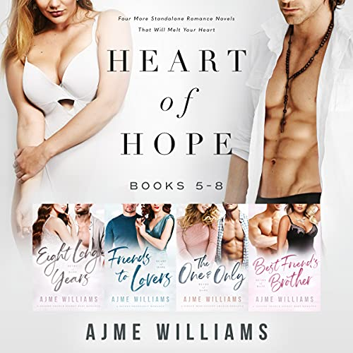 Book Cover of Heart of Hope: Books 5 - 8 (Heart of Hope Box Set Collection)