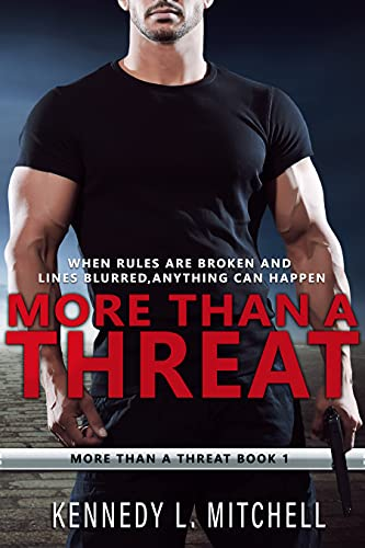 Book Cover of More Than a Threat: A Bodyguard Romance Series