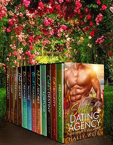 Book Cover of Shifter Dating Agency: The Complete 12 Book Box Set