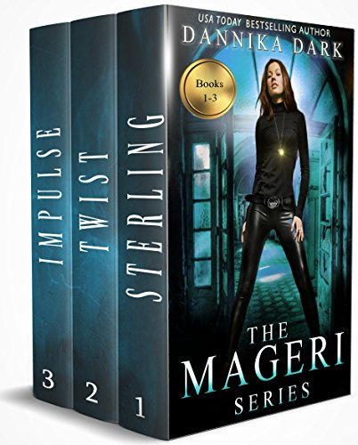 Book Cover of The Mageri Series Boxed Set (Books 1-3)