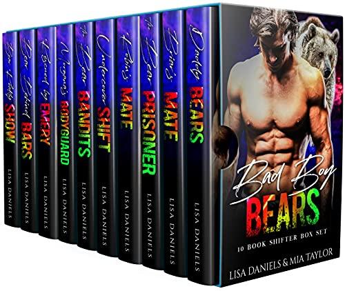 Book Cover of Bad Boy Bears 10 Book Shifter Box Set