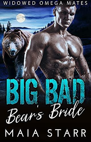 Book Cover of Big Bad Bear's Bride (Widowed Omega Mates Book 5)