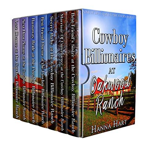 Book Cover of Cowboy Billionaires At Oakwood Ranch : Single Dad Ranch Brothers Boxset