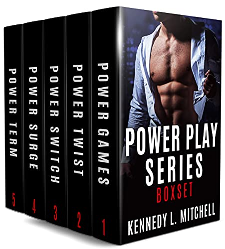 Book Cover of Power Play Series Boxset: The Complete Series Books 1-5