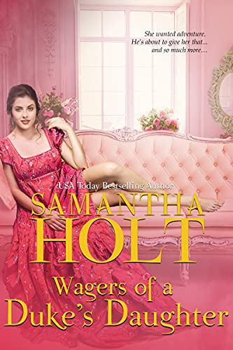 Book Cover of Wagers of a Duke's Daughter
