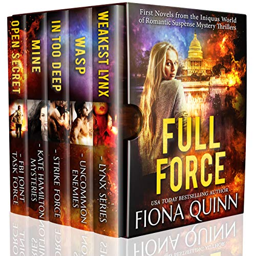 Book Cover of Full Force: First Novels from the World of Iniquus Romantic Suspense Mystery Thrillers (Iniquus Security Action Adventure Boxed Set Book 1)