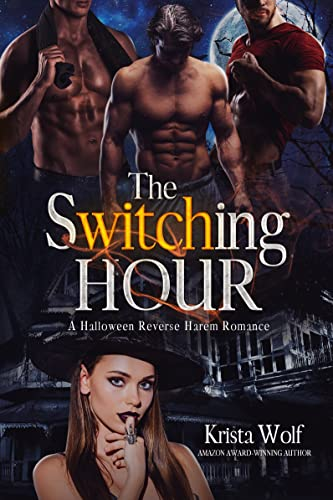 Book Cover of The Switching Hour: A Halloween Reverse Harem Romance